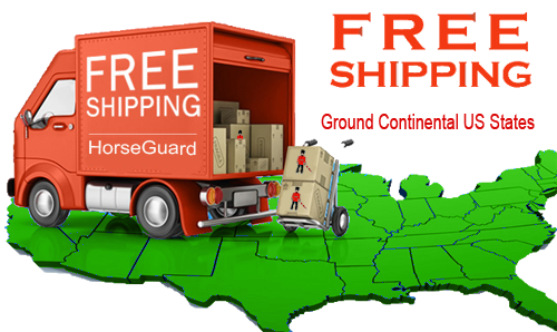 Free Shipping to every 'ground' Continental US States.
